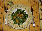Polníčkový salát po kreolsku