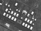 Dělostřelecký prapor na vojenské základně nedaleko Novočerkasku na jihu Ruska....