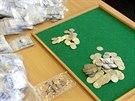 Nádoby nalezené v listopadu 2012 u Jílového obsahovaly více než tři tisíce...