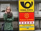 Přestože v budově České pošty v ulici Politických vězňů v centru Prahy zasahují...