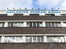 Nákladové nádraží Žižkov v Praze