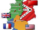 Sch�ma leteck�ho z�sobov�n� z�padn�ho Berl�na: Britov� p�il�tali od...