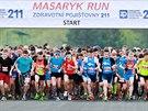 Na Masarykově okruhu se uskutečnil první ročník závodu Masaryk run.