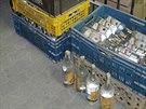 Celníci našli v restauraci na Boskovicku stovky litrů neoznačeného alkoholu.