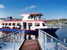 Na brněnskou přehradu poprvé v letošní sezoně vyrazila šestice lodí dopravního...