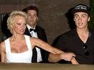 Pamela Andersonov� a jej� syn Dylan Jagger Lee