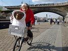 E.T. na projížďce Prahou