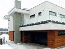 Nízkoenergetický inteligentní rodinný dům v Praze západ, projekt 2010,