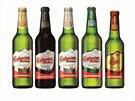Nové obaly značky Budweiser Budvar.