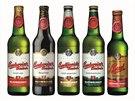 Staré obaly značky Budweiser Budvar.
