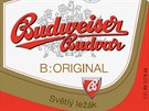 Nová etiketa značky Budweiser Budvar.