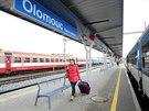 Novou podobu olomouckého hlavního nádraží mohou cestující vyzkoušet na prvním...
