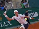 Tomáš Berdych na turnaji v Monte Carlu