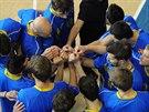 Opavští basketbalisté jako tým.