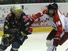 Momentka z duelu Olomouc - Chomutov