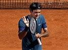Roger Federer na turnaji v Monte Carlu