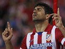 Diego Costa z Atlétika coby šťastný střelec.
