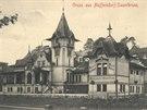 Budova Vratislavické kyselky je z roku 1910.