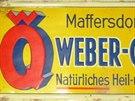 Kyselka se v minulosti prodávala pod názvem Weberovka v zelených lahvích.