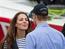 Princ William a jeho manželka Kate (11. dubna 2014)