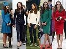 Vévodkyně z Cambridge Kate a její módní kreace na Novém Zélandu