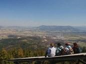 Výhled z Velkého Javorníku