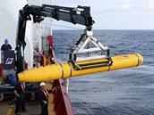 Asi pětimetrové podmořské plavidlo Bluefin-21 dokáže dosáhnout až hloubky 4 500...