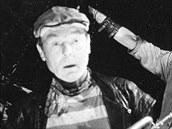 Miroslav Rataj při premiéře hry Romance pro křídlovku 6. června 1998 v Národním...