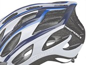 Cyklistická helma s hairportem