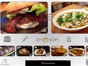 Aplikace Om Nom Nom vám nabídne snímky zajímavých jídel, společně s recepty na...