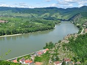 Jeden z nejmalebnějších úseků Dunajské cyklostezky prochází údolím Wachau.