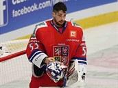 Alexander Salák v české reprezentační brance