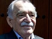 Kolumbijský nobelista Gabriel García Márquez během oslav svých 87. narozenin v...