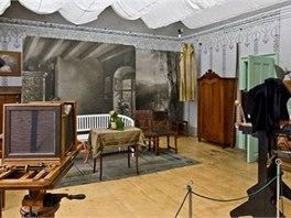 V krumlovsk�m ateli�ru Seidel v 19. stolet� vznikla tradice fotografie; dnes tu...