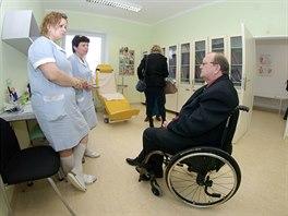 Fakultní nemocnice v Olomouci otevřela zrekonstruované centrum pro pacienty s...