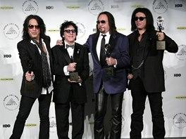 Rock'n'rollová síň slávy 2014 - členové klasické sestavy Kiss, tentokrát bez