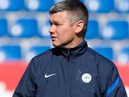 Trenér libereckých fotbalistů David Vavruška.
