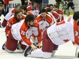 Olomoucký hokejový vláček dojel až do extraligy...
