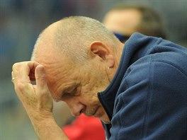 Chomutovsk� tren�r Jaroslav Beck