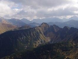 Vysoké Tatry z Giewontu
