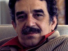 Kolumbijský spisovatel a nositel Nobelovy ceny Gabriel García Márquez v...