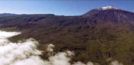 Sopka Teide - Uvnitř je kráter v kráteru, ale bohužel jsem neměl možnost to...