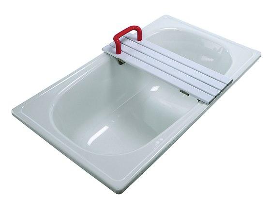 Sedačka do vany 4626 H. Nastavitelná podle šířky vany, perforace pro odtékání
