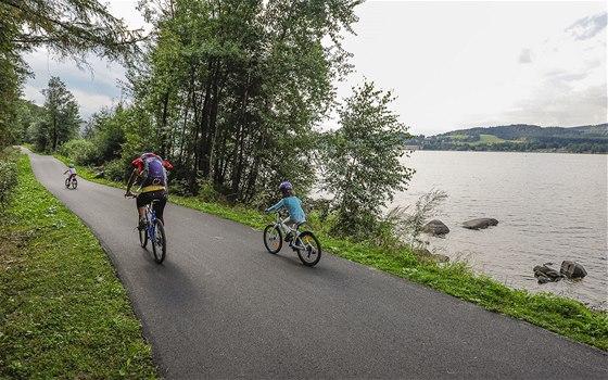 Nová cyklostezka do Přední Výtoně