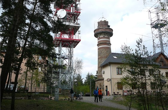 Z rozhledny je vidět celá Plzeň i okolí.