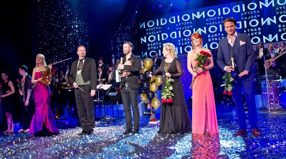 V�clav Noid B�rta a jeho host� v Hudebn�m divadle Karl�n