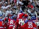TO BYLA PARÁDA. Strhující duel a vítězství pražského Lva v šestém finále KHL si