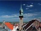 Radniční věž ve Znojmě slibuje báječné vyhlídky na město i do dalekého okolí