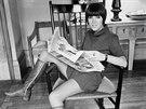 Mary Quantová chtěla nosit pohodlné šaty, krátké sukně a barevný punčochy. A...