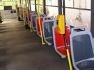 V�m�na seda�ek v tramvaj�ch pra�sk� MHD se t�k� asi 350 voz� typu T3RP a bude...